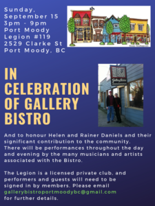 Celebration of Gallery Bistro @ Club 119 Lounge
