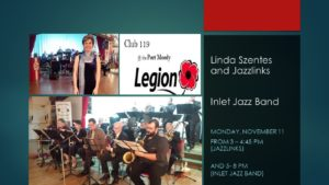 Linda Szentes and the Jazz Links @ Club 119 @ The Legion